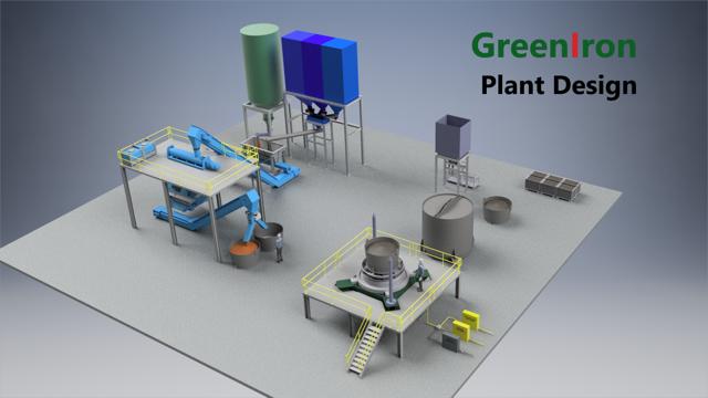 Anläggningsdesign för GreenIron